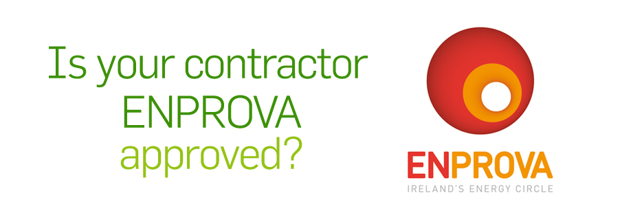 Is your contrator Enprova approved?
